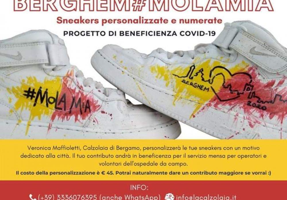 #MOLAMIA – PROGETTO BENEFICENZA SNEAKERS BERGHEM